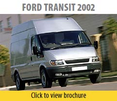 Ford Transet 2002 Seat Covers