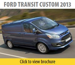 Ford Transit Custom 2013 Seat Covers